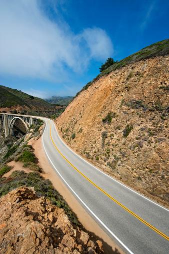 Bixby Creek Bridge「Highway 1 near Big Sur」:スマホ壁紙(1)