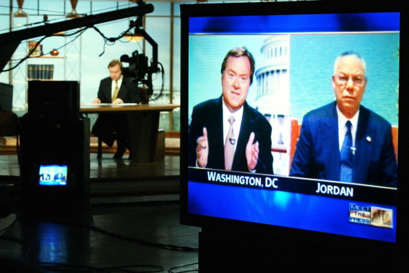 "Alex Wong「""Meet The Press"" With Colin Powell」:写真・画像(13)[壁紙.com]"