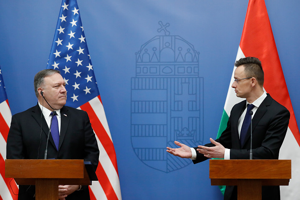 Laszlo Balogh「US Secretary Of State Mike Pompeo Visits Political Leaders In Hungary」:写真・画像(8)[壁紙.com]