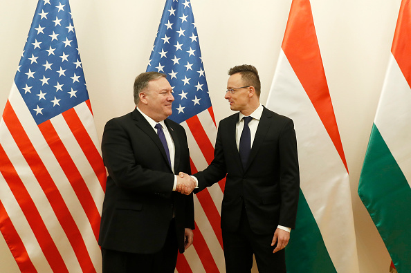 Hungary「US Secretary Of State Mike Pompeo Visits Political Leaders In Hungary」:写真・画像(9)[壁紙.com]