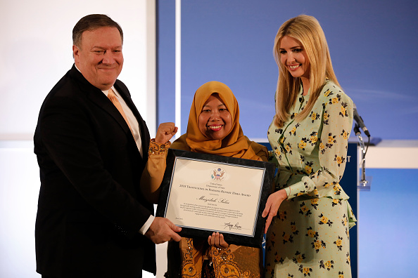 Aaron P「Mike Pompeo And Ivanka Trump Release 2018 Trafficking In Persons Report」:写真・画像(1)[壁紙.com]
