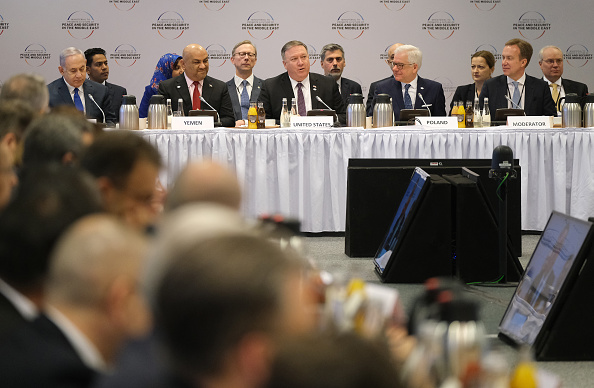 Warsaw「Poland And U.S. Hold International Middle East Security Conference」:写真・画像(18)[壁紙.com]