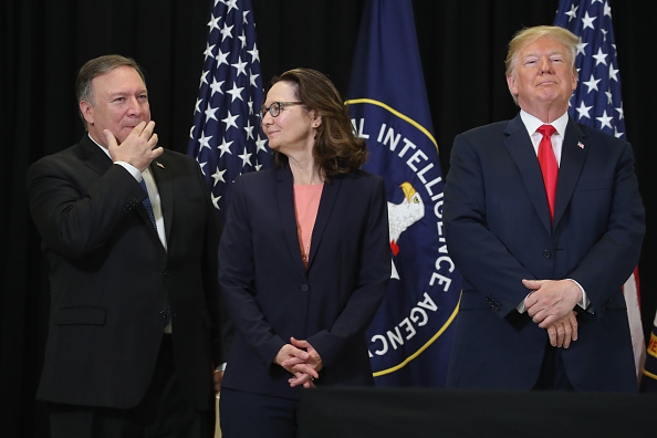 Central Intelligence Agency「President Trump Takes Part In Swearing In Of CIA Director Gina Haspel」:写真・画像(18)[壁紙.com]