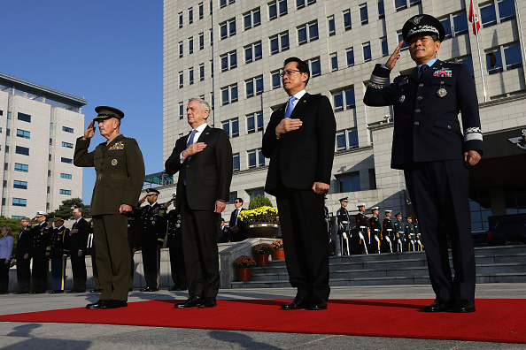United States Department of Defense「US Defense Secretary James Mattis Hold Security Consultative With South Korean Defense Minister」:写真・画像(14)[壁紙.com]