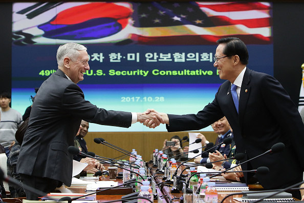 United States Department of Defense「US Defense Secretary James Mattis Hold Security Consultative With South Korean Defense Minister」:写真・画像(17)[壁紙.com]