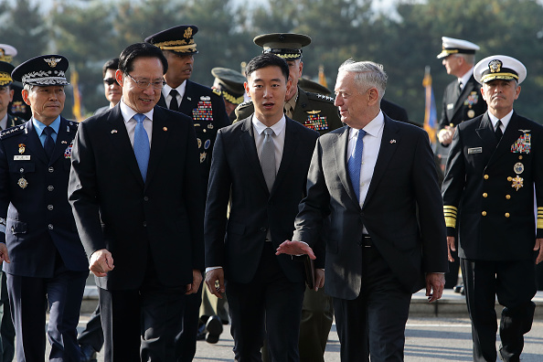 United States Department of Defense「US Defense Secretary James Mattis Hold Security Consultative With South Korean Defense Minister」:写真・画像(12)[壁紙.com]