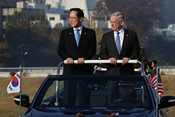 United States Department of Defense「US Defense Secretary James Mattis Hold Security Consultative With South Korean Defense Minister」:写真・画像(15)[壁紙.com]