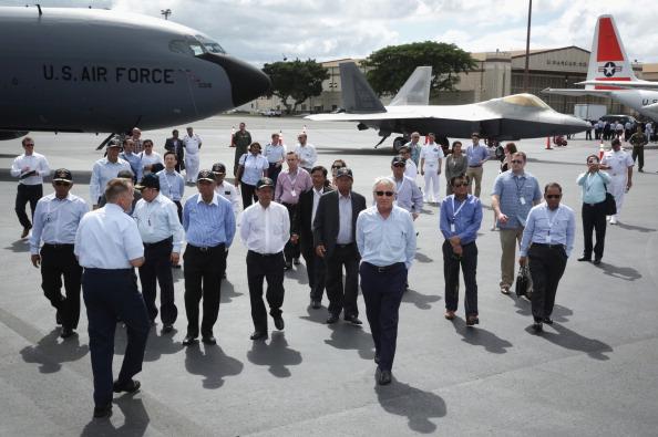 Hen「Defense Secretary Hagel Attends US-ASEAN Defense Forum In Hawaii」:写真・画像(10)[壁紙.com]