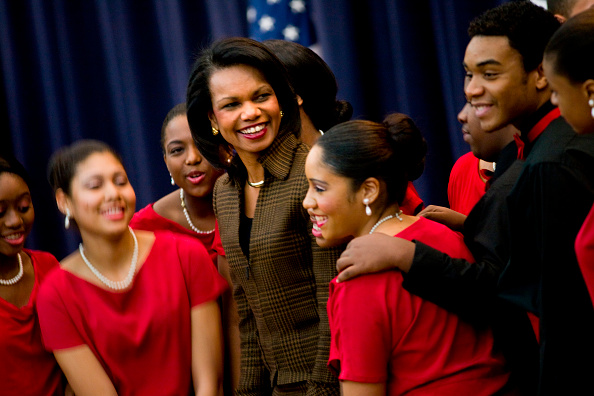 Black History Month「Condoleezza Rice Speaks At Black History Month Event」:写真・画像(5)[壁紙.com]