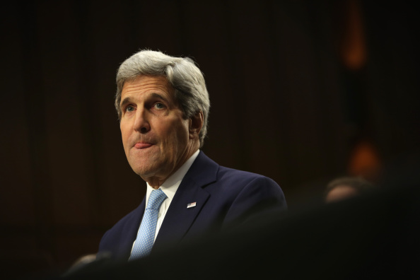 Alex Wong「Secretary Of State John Kerry Testifies To Senate Foreign Relations Hearing On ISIL」:写真・画像(18)[壁紙.com]