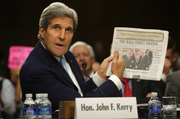 Alex Wong「Secretary Of State John Kerry Testifies To Senate Foreign Relations Hearing On ISIL」:写真・画像(19)[壁紙.com]