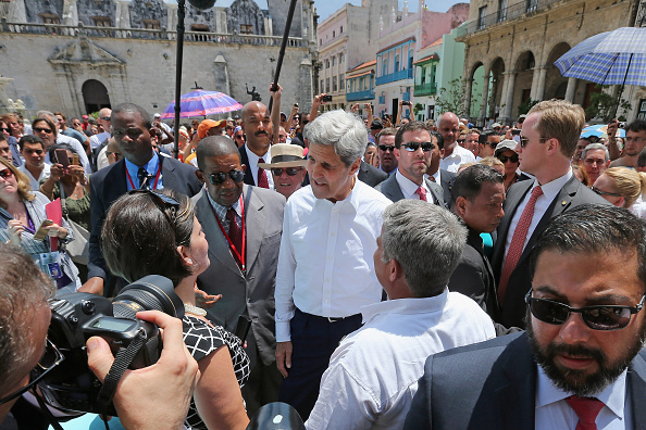 Secretary Of State「John Kerry Opens American Embassy In Havana, Cuba」:写真・画像(9)[壁紙.com]