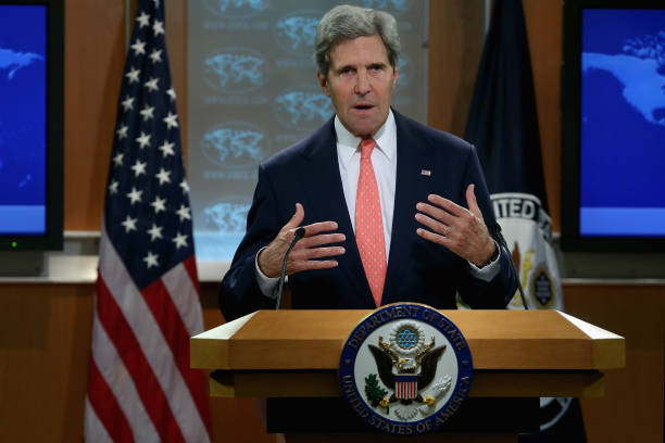 John Kerry Makes Statement To Press On Situation In Syria:ニュース(壁紙.com)