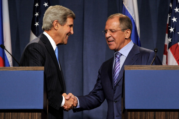 John Kerry「U.S. Secretary Of StateJohn Kerry Meets With Russian Foreign Minister In Geneva」:写真・画像(8)[壁紙.com]