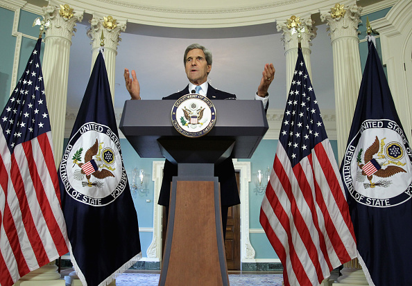 Secretary Of State「Secretary Of State John Kerry Speaks On Syria At The State Department」:写真・画像(9)[壁紙.com]