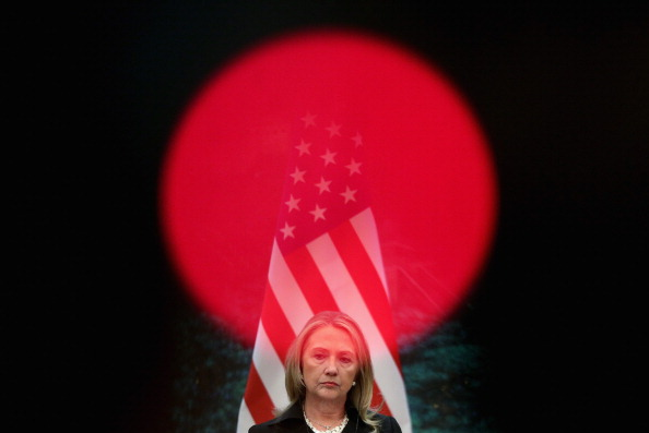Press Room「U.S. Secretary of State Hillary Clinton Visits China」:写真・画像(3)[壁紙.com]