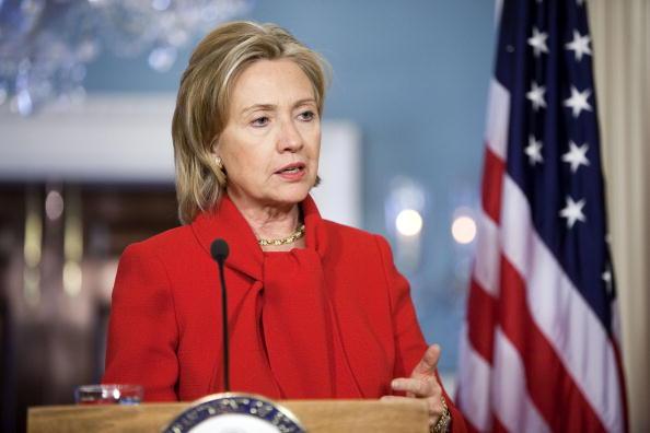 Joshua Roberts「Clinton Meets With UK Foreign Secretary」:写真・画像(4)[壁紙.com]