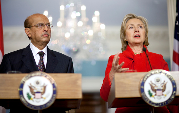 Joshua Roberts「Clinton Holds Bilateral Meeting With Foreign Minister Of Yemen」:写真・画像(13)[壁紙.com]