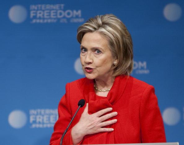 Joshua Roberts「Hillary Clinton Gives Speech On Internet Freedom」:写真・画像(12)[壁紙.com]