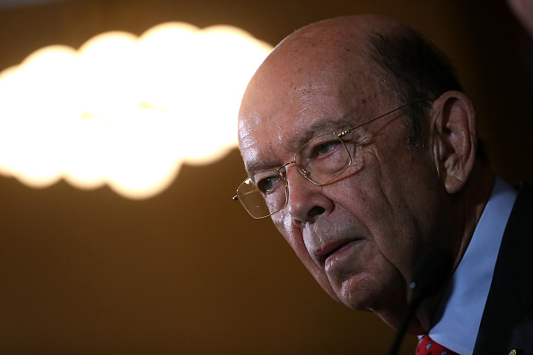 Wilbur Ross「Commerce Secretary Ross Holds Press Conf. With Mexico's  Minister Of Economy」:写真・画像(3)[壁紙.com]