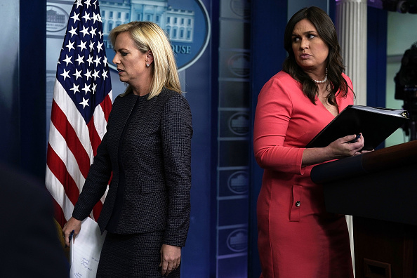 James Nielsen「Sarah Sanders Holds Daily Press Briefing At The White House」:写真・画像(19)[壁紙.com]