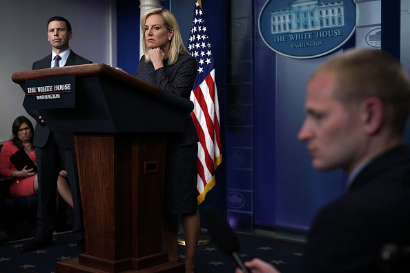James Nielsen「Sarah Sanders Holds Daily Press Briefing At The White House」:写真・画像(18)[壁紙.com]