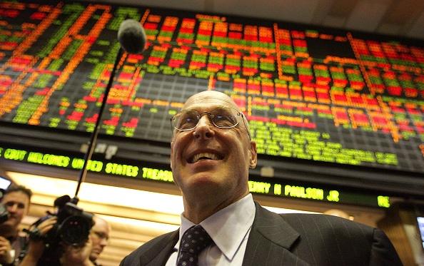 Tim Boyle「Treasury Secretary Hank Paulson Visits Chicago Board Of Trade」:写真・画像(18)[壁紙.com]