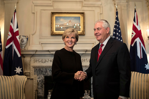 Aaron P「Secretary Of State Rex Tillerson Meets With Australian Foreign Minister Julie Bishop」:写真・画像(1)[壁紙.com]