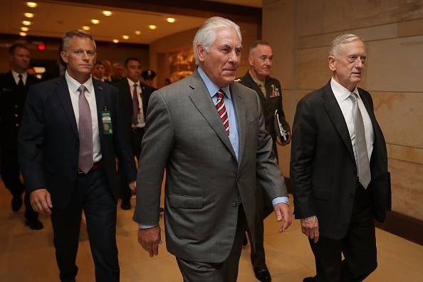 Arrival「Defense Secretary Mattis Holds Closed Briefing With House Representatives On Syria」:写真・画像(5)[壁紙.com]