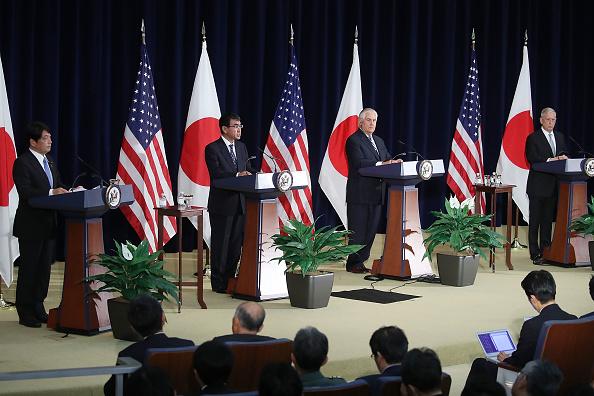 アメリカ合州国「Secretary Of State Tillerson And Defense Secretary Mattis Hosts U.S.-Japan Security Consultative Committee At State Dept.」:写真・画像(0)[壁紙.com]