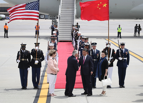 Florida - US State「Chinese President Xi Jinping Arrives To West Palm Beach For Visit With President Trump」:写真・画像(0)[壁紙.com]