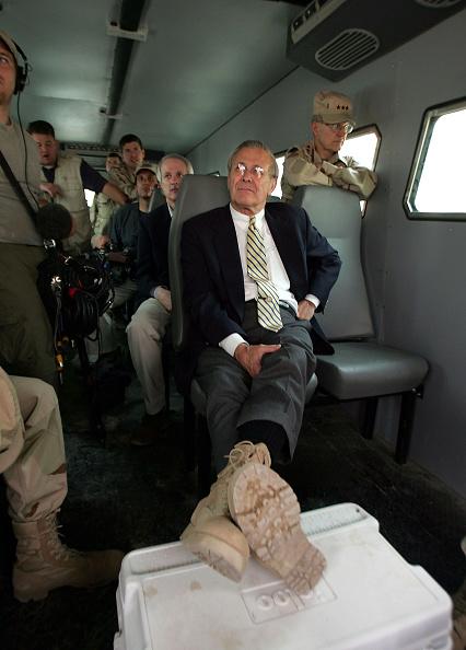 Abu Ghraib Prison「Rumsfeld Tours Abu Ghraib Prison In Iraq」:写真・画像(7)[壁紙.com]