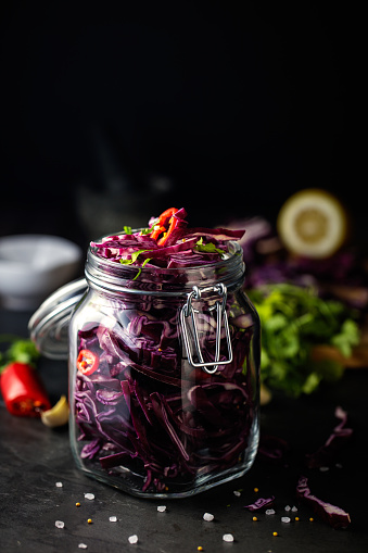 Red Cabbage「pickled red cabbage」:スマホ壁紙(2)