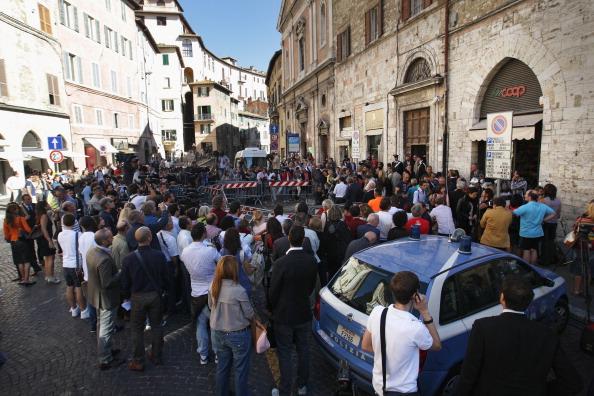 Perugia「Amanda Knox Awaits Murder Verdict」:写真・画像(2)[壁紙.com]