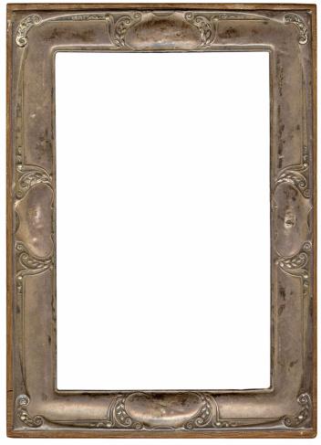 Fleur De Lys「Art nouveau frame」:スマホ壁紙(17)