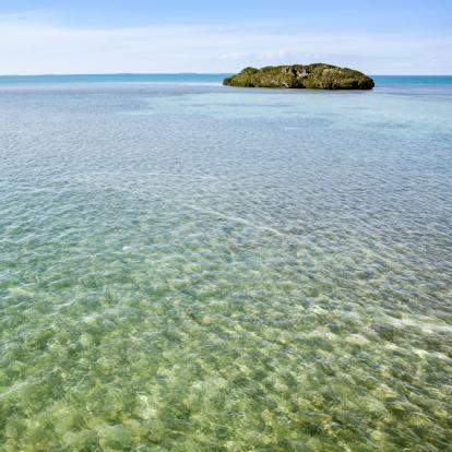 Water Surface「Little tropical island in the Florida Keys」:スマホ壁紙(16)