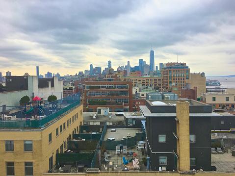 Meatpacking District「Rooftops, Manhattan」:スマホ壁紙(12)