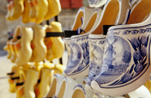 Amsterdam「Clogs, typical wooden shoes, Netherlands」:スマホ壁紙(9)