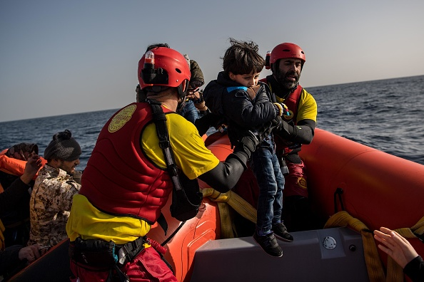 Sea「Search And Rescue On The Mediterranean With Proactiva Open Arms」:写真・画像(19)[壁紙.com]