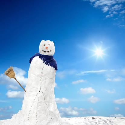 雪だるま「優しいスノーマン」:スマホ壁紙(16)