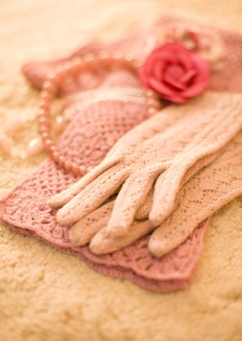 スカーフ「Gloves and muffler」:スマホ壁紙(2)