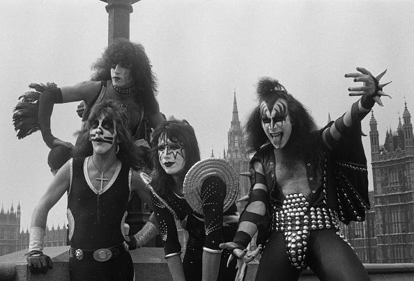 1976「Kiss Arrive In London」:写真・画像(2)[壁紙.com]
