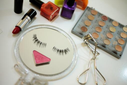 Hand Mirror「make-up goods」:スマホ壁紙(1)
