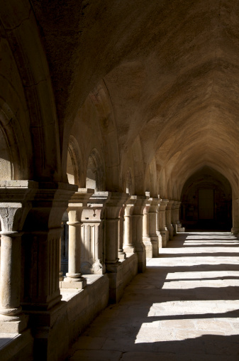 Abbey - Monastery「Montbard , Fontenay Abbey , Burgundy , France」:スマホ壁紙(13)