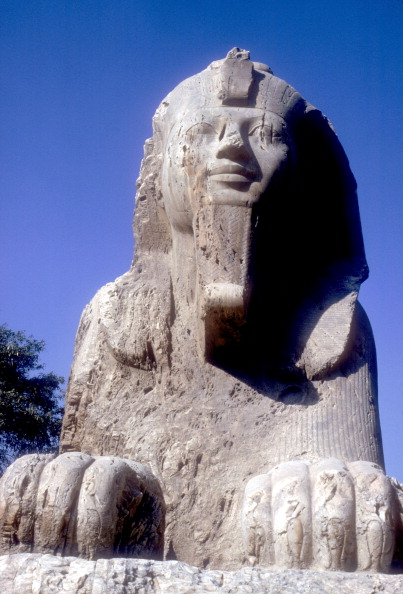 Alabaster「Alabaster Sphinx (seen from front), Memphis, Egypt, 18th or 19th Dynasty, c14th-13th century BC.」:写真・画像(9)[壁紙.com]