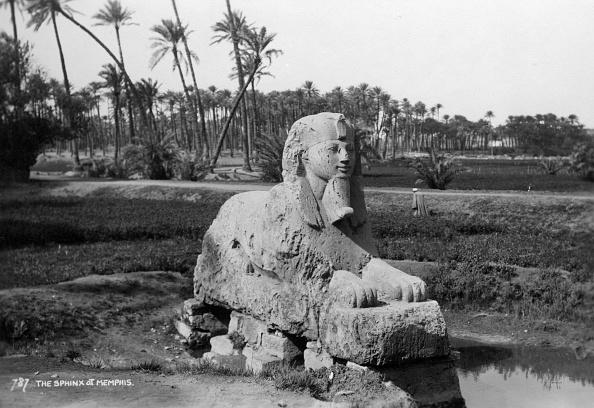 Alabaster「Alabaster Sphinx at Memphis, Egypt, c1920s-c1930s(?).」:写真・画像(17)[壁紙.com]