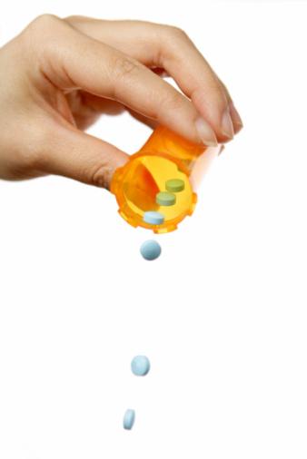 Human Hand「Blue Pills」:スマホ壁紙(2)