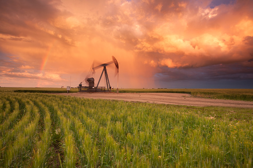 Rainbow「Prairie Oil Saskatchewan」:スマホ壁紙(11)