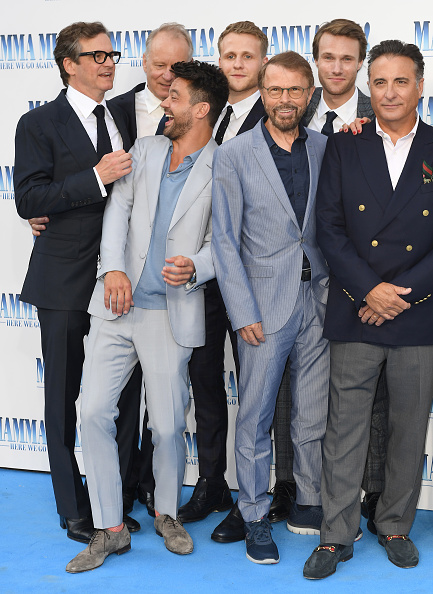 Bjorn Ulvaeus「Mamma Mia! Here We Go Again World Premiere」:写真・画像(0)[壁紙.com]