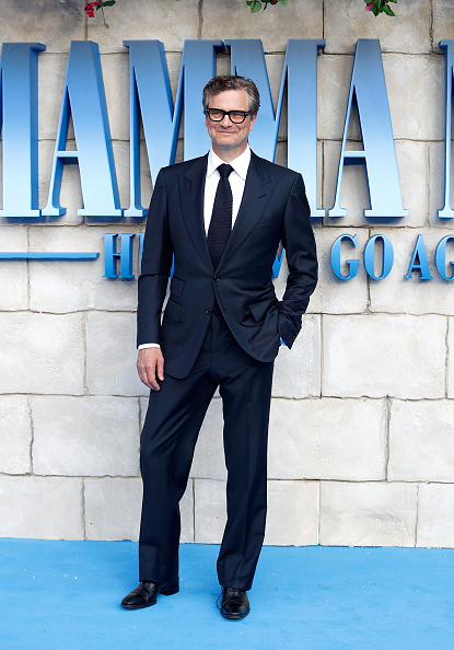 "Black Suit「""Mamma Mia! Here We Go Again"" - UK Premiere - Red Carpet Arrivals」:写真・画像(10)[壁紙.com]"
